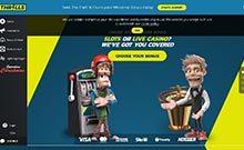 Thrills kasino gjennomgang skjermbilde på  himmelspill.com 4
