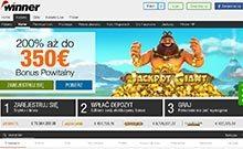 Winner kasino gjennomgang skjermbilde på  himmelspill.com 2