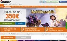 Winner kasino gjennomgang skjermbilde på  himmelspill.com 3