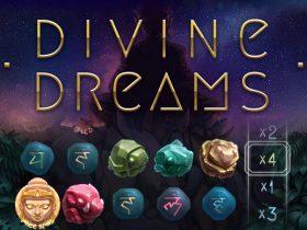 Få multiplikatorer som er verdt opptil 30x sats i den nye automaten, New Divine Dreams