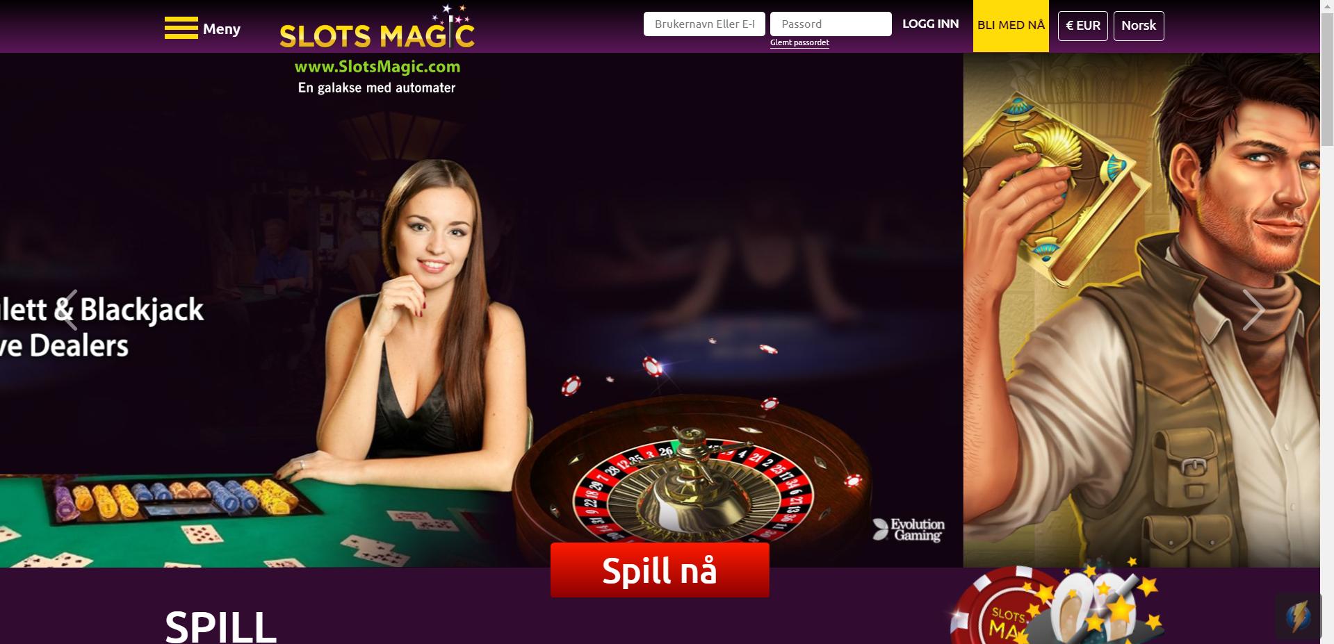 SlotsMagic Casino – for de som liker et godt utvalg av automater himmelspill.com